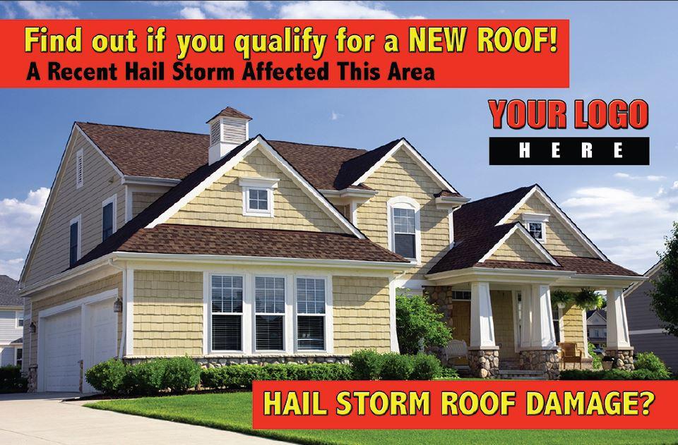 Roofing Postcard Design #11